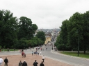 View on Oslo from the King\'s Palace..