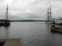 View on Oslofjorden from the Marina at the Town Hall.