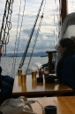 Never go sailing without beer!