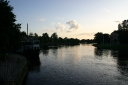 One of the many rivers flowing through Karlstad