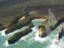 Shipwreck Coast from the air.. (2)