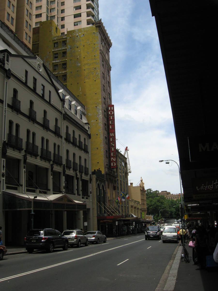 The Westend.. backpackers hotel I stayed at