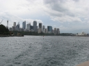Coming in and going out of Sydney the old way..
